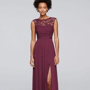 David's Bridal size 8 bridesmaid dress